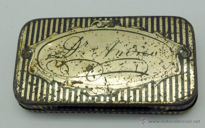 Cajas y cajitas metálicas: Caja farmacia medicina Pasta pectoral tos Dr Andreu Barcelona - Foto 7 - 45262299
