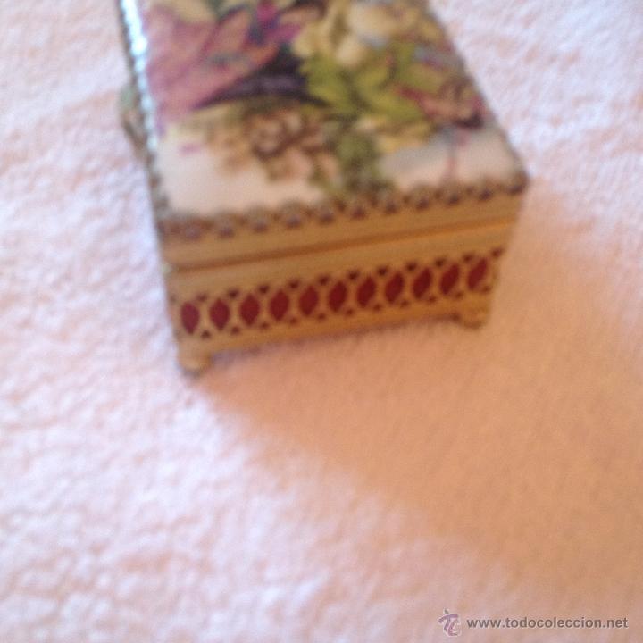 Cajas y cajitas metálicas: ANTIGUA CAJA ORIENTAL - Foto 3 - 45446429