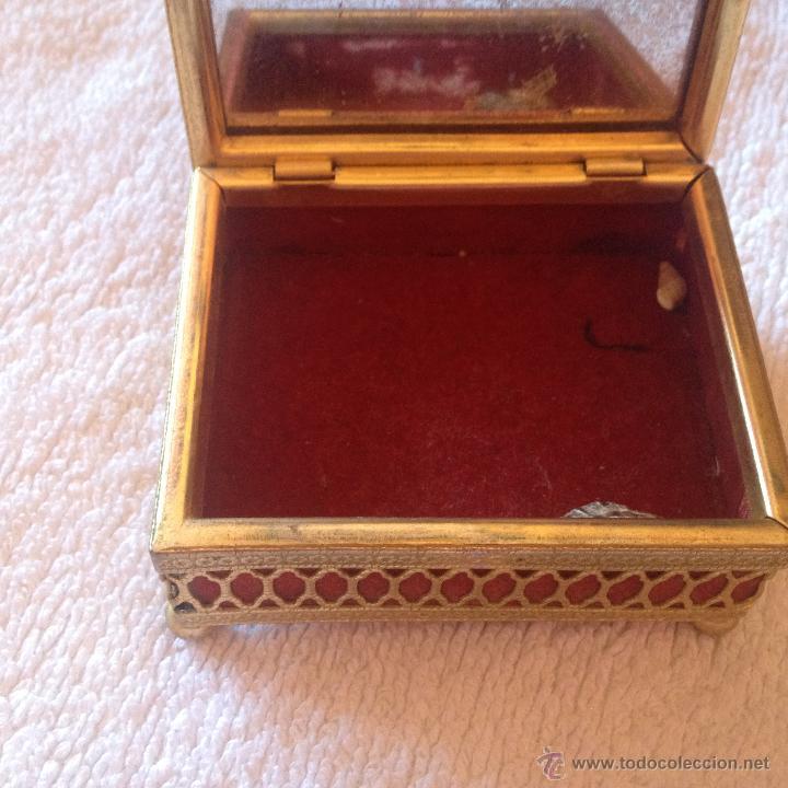 Cajas y cajitas metálicas: ANTIGUA CAJA ORIENTAL - Foto 4 - 45446429