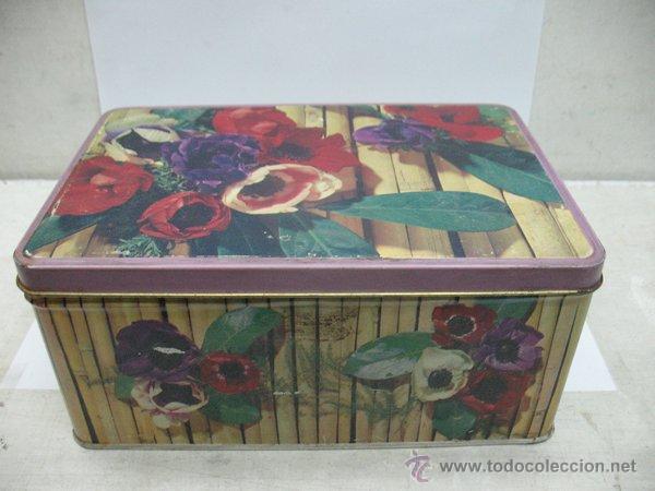 CAJA DE COLA CAO ANTIQUISIMNA (Coleccionismo - Cajas y Cajitas Metálicas)