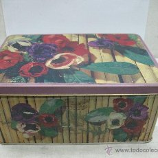 Cajas y cajitas metálicas: CAJA DE COLA CAO ANTIQUISIMNA. Lote 45591665