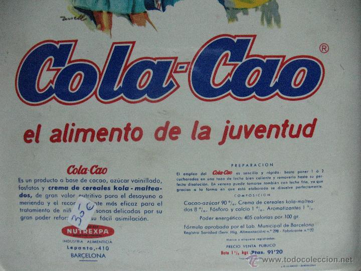 Cajas y cajitas metálicas: Caja de CoLa Cao Antiquisimna - Foto 6 - 45591665