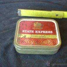 Cajas y cajitas metálicas: ANTIGUA CAJITA STATE EXPRESS. Lote 45672241