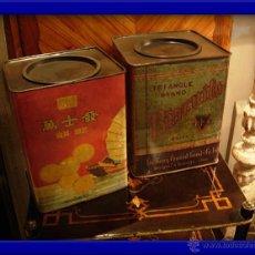 Cajas y cajitas metálicas: LATAS DE CHAPA DECORADAS. Lote 29141547