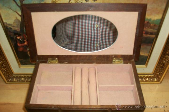 Cajas y cajitas metálicas: ANTIGUA CAJA DE MADERA - Foto 3 - 45947620