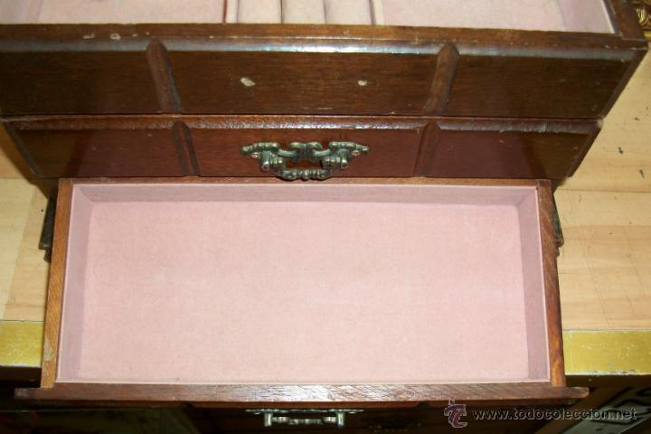 Cajas y cajitas metálicas: ANTIGUA CAJA DE MADERA - Foto 5 - 45947620