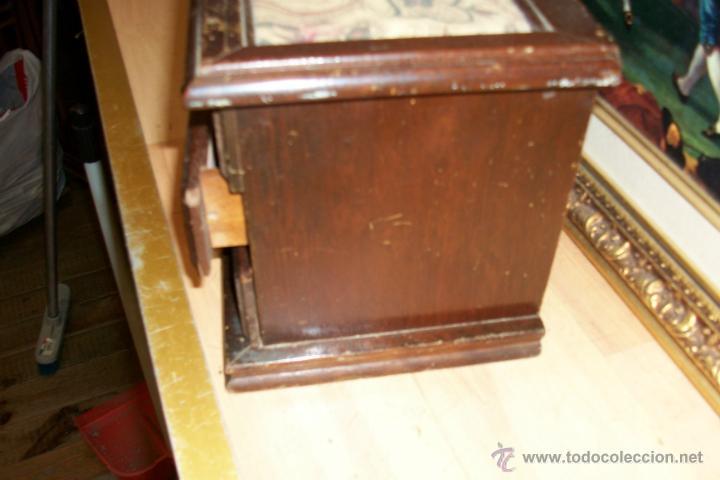 Cajas y cajitas metálicas: ANTIGUA CAJA DE MADERA - Foto 8 - 45947620