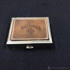Cajas y cajitas metálicas: CAJA ESTUCHE LENTILLAS - JACK DANIELS - 8X6 - CAR61. Lote 46003307