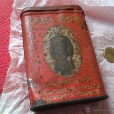 Cajas y cajitas metálicas: LATA CAJA METALICA DE TABACO PRINCE ALBERT REYNOLDS TOBACCO COMPANY USA. Lote 46107078
