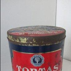 Cajas y cajitas metálicas: LATA - TORTAS IMPERIALES ´´EL ALMENDRO´´. Lote 46311211