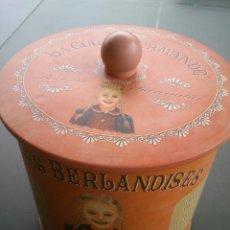 Cajas y cajitas metálicas: CAJA DE BOMBONES LA CURE GOURMANDE. Lote 46389300