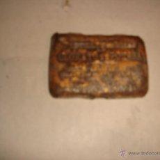 Cajas y cajitas metálicas: TAPA LATA . Lote 46685604