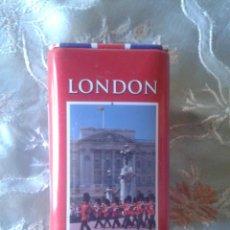 Cajas y cajitas metálicas: LATA LONDRES, LATA LONDON. Lote 46801066