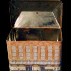 Cajas y cajitas metálicas: ANTIGUA CAJA METALICA - HARRODS - TAMAÑO 12 X 10 X 18 CENTIMETROS. Lote 46887991