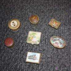 Cajas y cajitas metálicas: LOTE DE 7 CAJITAS METALICAS =PASTILLEROS=. Lote 46950020