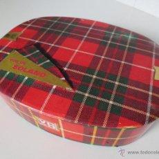 Cajas y cajitas metálicas: CAJA VIUDA DE SOLANO.. Lote 47634031