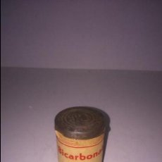 Cajas y cajitas metálicas: BOTE DE BICARBONATO DE SOSA. FARMACIA. Lote 48070612