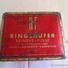 Cajas y cajitas metálicas: CAJA METALICA - RINGLAUFER - GERMANY.. Lote 48342699
