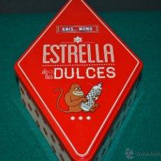 Cajas y cajitas metálicas: CAJA METÁLICA ANÍS DEL MONO ESTRELLA DE TUS DULCES. Lote 48350615