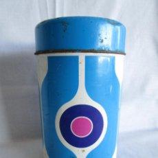 Cajas y cajitas metálicas: BOTE METALICO CAFE SOLEY 500 G. . Lote 48382294