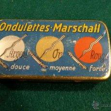 Cajas y cajitas metálicas: CAJA AGUJAS DE GRAMOFONO ONDULETTES MARSCHALL. Lote 48388812