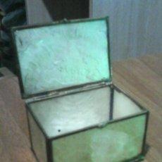 Cajas y cajitas metálicas: MINUSCULA CAJITA DE NACAR.. Lote 48419522
