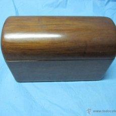 Cajas y cajitas metálicas: PRECIOSA CAJA MADERA JOYERO. Lote 48596362
