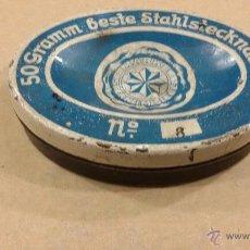 Cajas y cajitas metálicas: CAJA AGUJAS DE COSER STERNIMISIEGE. Lote 48622796