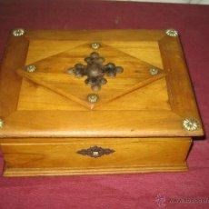 Cajas y cajitas metálicas: CAJA... JOYERO... FI XIX / CO XX. Lote 48637500