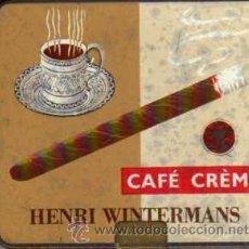 Cajas y cajitas metálicas: ANTIGUA CAJITA METÁLICA - HENRI WINTERMANS - CAFÉ CRÈME. Lote 48748006
