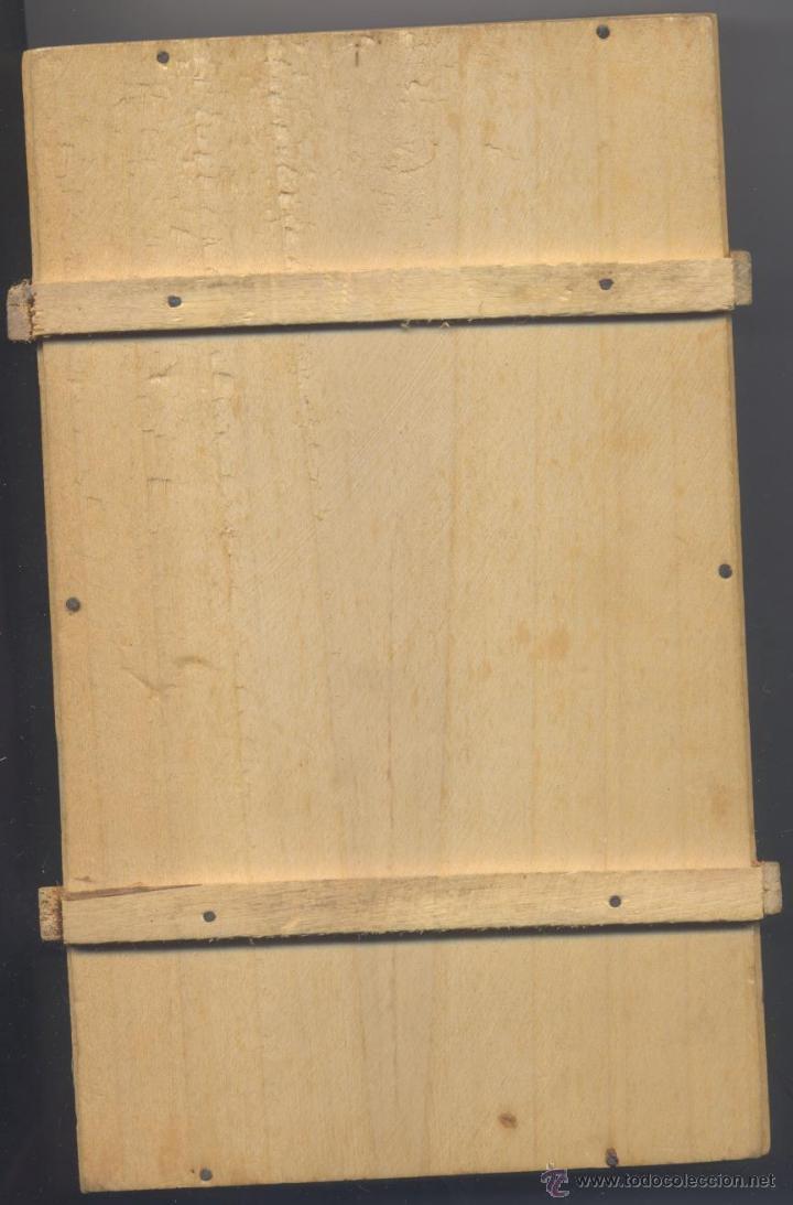 Cajas y cajitas metálicas: ANTIGUA CAJA DE MADERA DE FABRICA DE TURRONES Y DULCES-HIJOS DE MANUEL RISCO-BADAGOZ - Foto 2 - 48846317