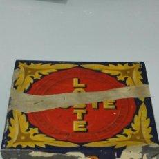 Cajas y cajitas metálicas: ANTIGUA CAJA DE GALLETAS SELECTAS LOSTE, MEDIDAS 24 X 22 X 12,5 CMT. Lote 48846653