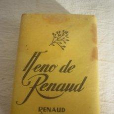 Cajas y cajitas metálicas: PASTILLA JABÓN HENO DE RENAUD. Lote 48964748