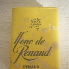 Cajas y cajitas metálicas: PASTILLA JABÓN HENO DE RENAUD. Lote 48964859