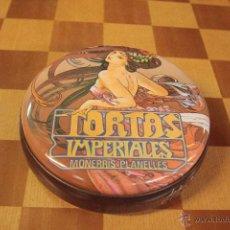 Cajas y cajitas metálicas: TORTAS IMPERIALES. MONERRIS PLANELLES - CAJA METÁLICA -REF3500- . Lote 49165195