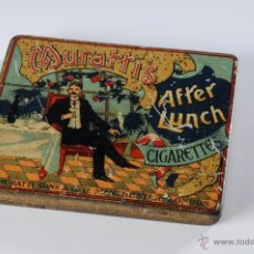Blechdosen und Kisten - ANTIGUA CAJA METALICA MURATTIS AFTER LUNCH CIGARETTES - 49178292