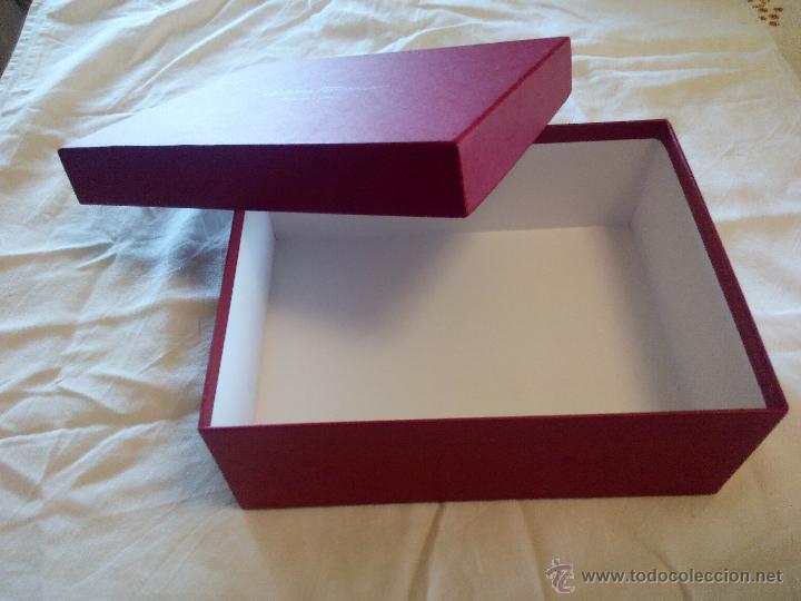 Bonita caja de cart n duro salvatore ferragamo comprar cajas antiguas y cajitas met licas en - Cajas de carton bonitas ...