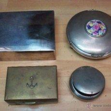 Cajas y cajitas metálicas: LOTE DE 4 CAJAS. Lote 49203206