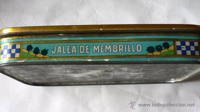 Cajas y cajitas metálicas: CAJA DE LATA DE JALEA DE MEMBRILLO DE MANUEL BAENA CASTELLANO - Foto 3 - 49275167
