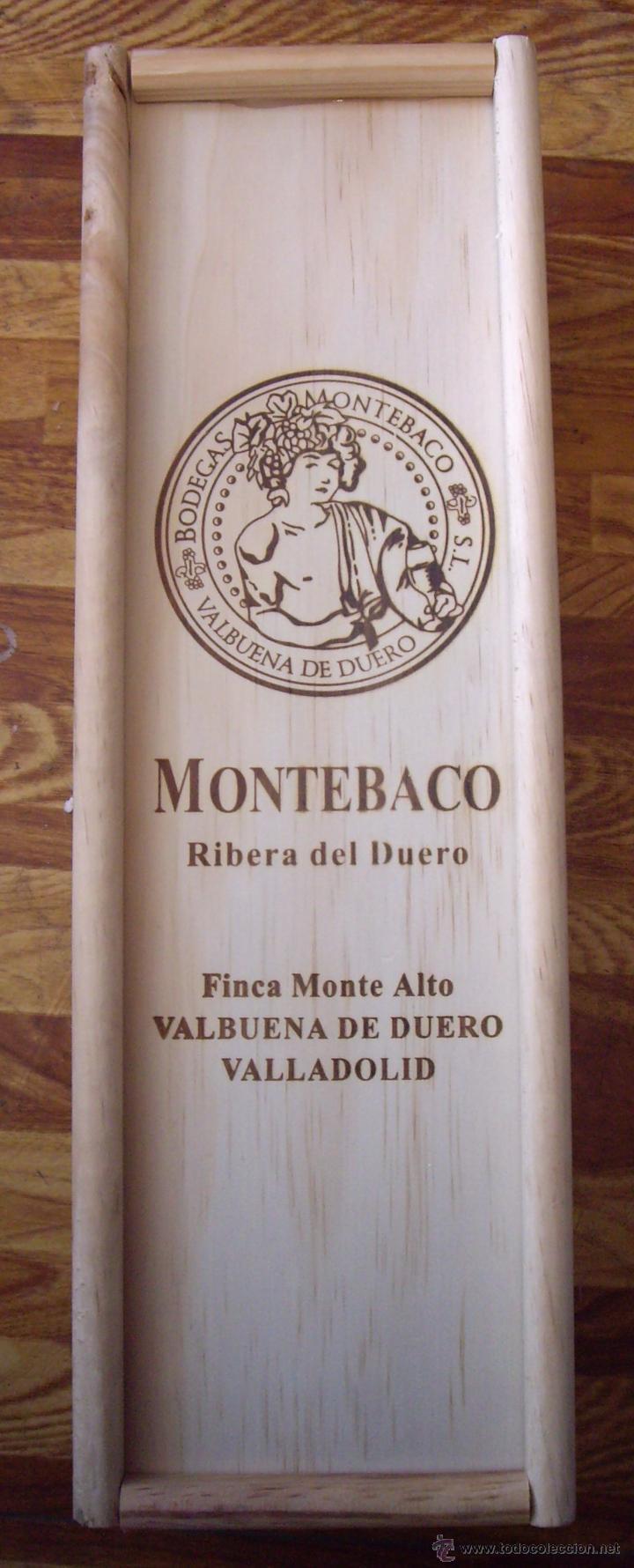 caja madera vino montebaco
