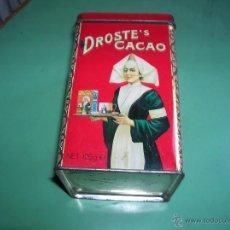 Cajas y cajitas metálicas: LINDA LATA DROSTE´S CACAO. Lote 49664932
