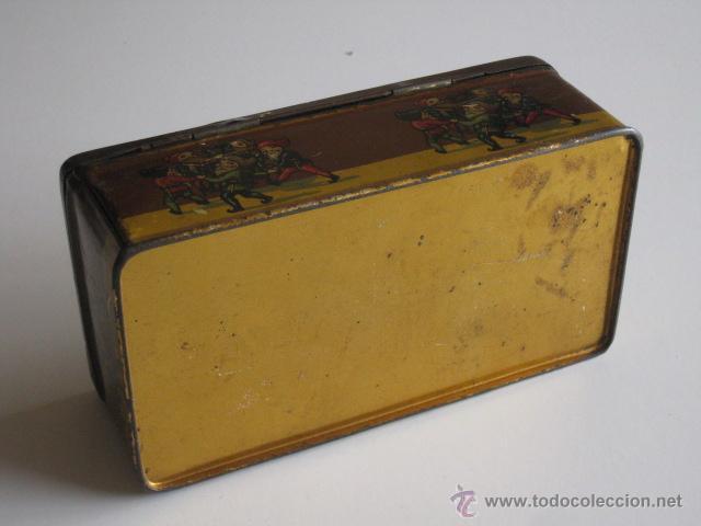 Cajas y cajitas metálicas: CAJA DE LATA LITOGRAFIADA, ACCESORIOS PARA WERTHEIM. - Foto 4 - 50062661