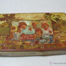 Cajas y cajitas metálicas: CAJA HOJALATA DE LA DESPENSA DE PALACIO. Lote 50226780