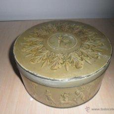 Cajas y cajitas metálicas: CAJA DE GALLETAS INGLESA. Lote 50285635