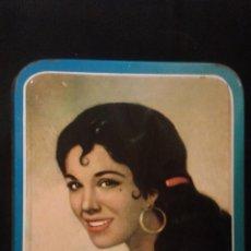Cajas y cajitas metálicas: ANTIGUA CAJA LATA - DULCE DE MEMBRILLO 6KGS - LA MEMBRILLERA CALIDAD EXTRA - PUENTE GENIL 1964-65. Lote 50289173