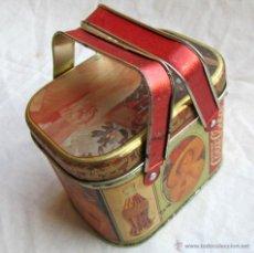 Cajas y cajitas metálicas: CAJA DE LATA DE COCACOLA COCA-COLA 1984. Lote 50311445