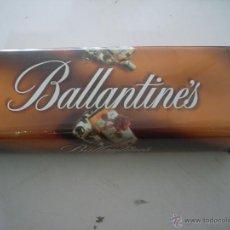 Cajas y cajitas metálicas: LATA BALLANTINES IDEAL PARA COLECCIONISTAS. Lote 50317165