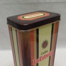 Cajas y cajitas metálicas: CAJA METALICA CAFES LA ESTRELLA . Lote 50344938