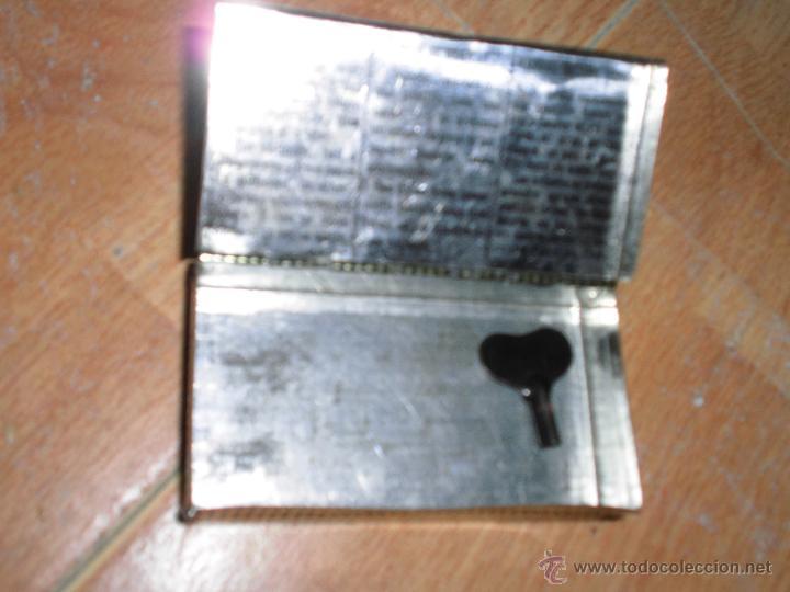 Cajas y cajitas metálicas: ANTIGUA CAJA DE HOJALATA FARMACIA PASTA PECTORAL TOS RAMBLA BARCELONA - Foto 2 - 50444377