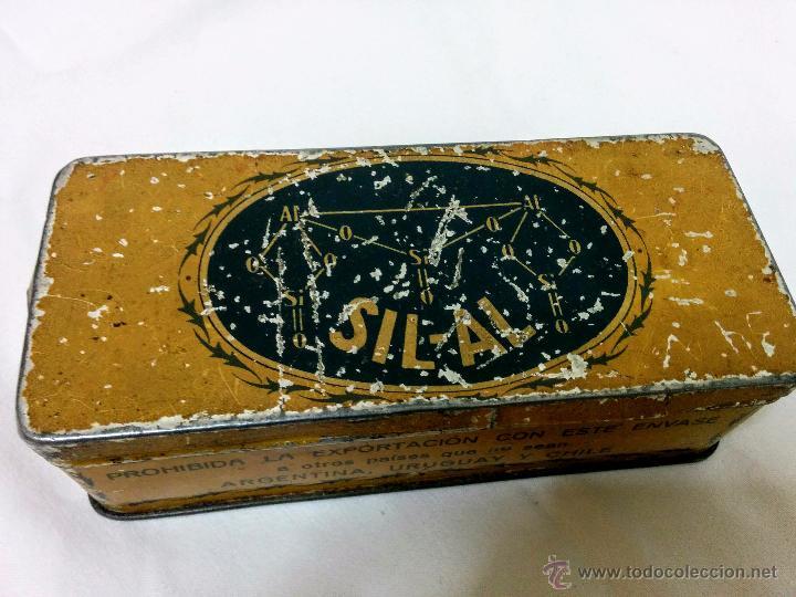 CAJA METÁLICA SIL-AL BELLADONA (Coleccionismo - Cajas y Cajitas Metálicas)